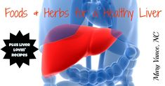Foods and herbs to support liver detox.