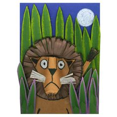 Rousseau-Inspired Lion - Project #202