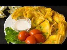 Clătite pe bază de apă fără ouă – fine și savuroase, încât se topesc în gură! (de post). | SavurosTV - YouTube Fresh Rolls, Cantaloupe, Turkey, Fruit, Ethnic Recipes, Food, Cakes, Youtube, Turkey Country