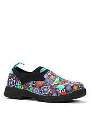 Breezy Low Floral Flat Shoes