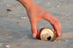 Keep the beaches clean - leave no trace