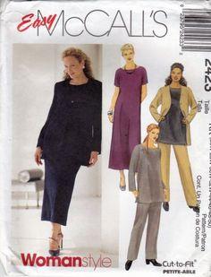 Applique 8672 UNCUT Vintage McCalls SEWING Pattern Creative Clothing Vest