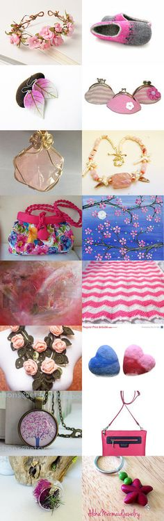 Pink Dreams! by Fatma on Etsy--Pinned with TreasuryPin.com