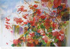 Картина Краски осени   Натюрморты акварелью   Тимошин Олег