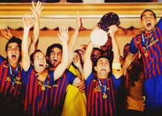 FC Barcelona Spanish Super Cup Champions. Epic final against Madrid! ill never forget it!