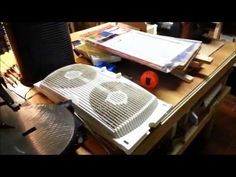 DIY Garage Exhaust Fan and Air Filter, for Woodworking and Finishing - YouTube