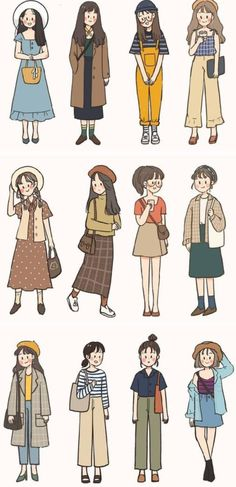 Cute Cartoon Drawings, Cartoon Art Styles, Doodle Drawings, Creative Instagram Photo Ideas, Illustration Art Drawing, Cute Patterns Wallpaper, Digital Art Girl, Comic Styles, Anime Girl Cute