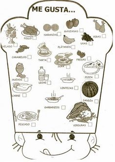 1000 images about food la comida on pinterest spanish food in spanish and spanish. Black Bedroom Furniture Sets. Home Design Ideas