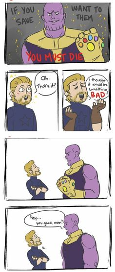 27 Times Marvel Fans Were Funny As Hell About The Avengers You okay, Steve? 27 Times Marvel Fans Were Funny As Hell About The Avengers You okay, Steve? No, of course not. How silly of me.Source by ckyhapsari Marvel Jokes, Marvel Comics, Meme Comics, Funny Marvel Memes, Dc Memes, Avengers Memes, Memes Humor, Funny Memes, Silly Jokes