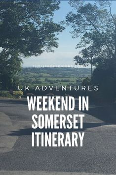 Looking to spend the weekend in Somerset? Check out this Somerset Itinerary for a short weekend break away. Travel Uk, Family Travel, Days Out In Scotland, Dog Friendly Holidays, Uk Beaches, Norfolk Broads, Visit Uk, Devon And Cornwall, Family Days Out
