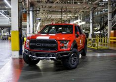2020 Ford F-150 Raptor coming off the line at Dearborn Truck Plant, on the day production resumed after the COVID-19 shutdown.