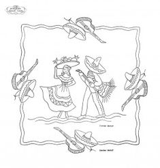 free vintage embroidery pattern