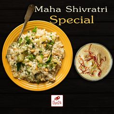 Oye24 enhances your festival delightness and flavors by introducing Sabudana Khichdi and Thandai combos. Products will be available tomorrow. Pre-Order Now www.oye24.com or call 0731-4711711  #Oye24 #PreOrder #Sabudana #khichdi #fast  #shivratri #festival #orderonline #freedelivery #homedelivery #indore #indori #tasty #food