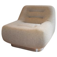 Stow Davis Tomorrow Lounge Chair | See more antique and modern Lounge Chairs at https://www.1stdibs.com/furniture/seating/lounge-chairs