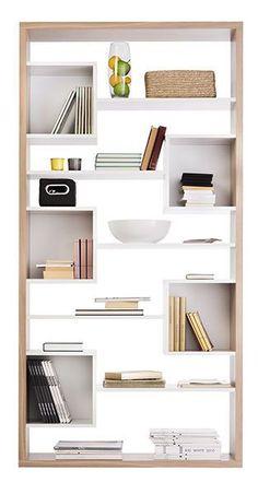 Biblioteca moderna / de madera - LONDRA - SBA Baldu Kompanija SBA Furniture… #mueblesdemadera