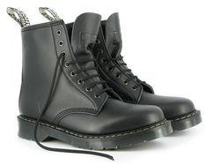 best service 38b18 41ca6 Boulder boot street sole, vegankängor, svart, åttahålskänga.  greenlaces Svarta  Skor,