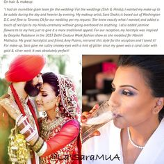 Happy bday! @makemejolie she was featured on @maharaniweddings website on Jan. 2nd! Check it out! Her entire wedding and highlight video was amazing! Blog date: 1-2-15  #maharaniweddings #brides #weddings #makeupartist #motd  #mua  #igmakeup #instamakeup #makeupdolls #makeupmobb #instaglam #makeuplover #ilovemakeup #makeupbyme #makeup #beauty #beatthatface #iloveigmuas #beautyguru #instamakeup #glam #indianweddings