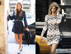 The Dress To Own Now: The Mini Long Sleeve Dress