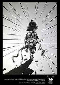 THE KIDS RETURN: Tokyo Exhibition   Abduzeedo Design Inspiration