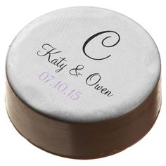 Wedding Bold Color Matched Chocolate Covered Oreo