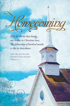 For our churchs 125 th anniversary banners i have made homecoming church bulletin clip art apk fun altavistaventures Images