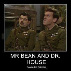 Would House call Mr Bean a liar?
