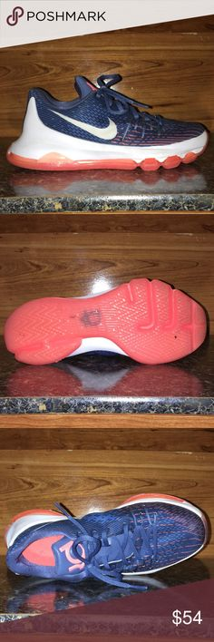 f91ebfc36653 Nike KD 8 GS Kids Ocean Fog Basketball Shoes This Kids  Nike KD 8  basketball · Kevin DurantBasketball ...