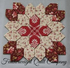 Lucy Boston Patchwork of the Crosses by FeatherweightQuiltCo