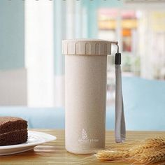 1Pc Coffee Mugs Water Cup Wheat Straw Round healthy PP Drinking Water Bottle Juice Tumbler Tea Cups Home Office Wholesale #45