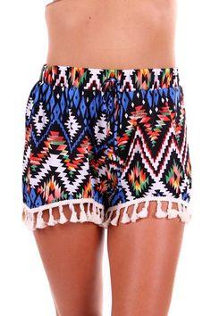 Aztec Sunset Shorts. $32.00 FREE DOMESTIC SHIPPING