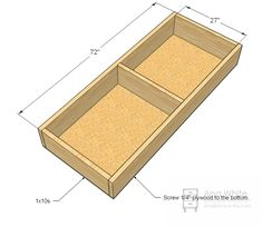 12 How to Build a Sofa Instructions Ana White, Black White, Diy Storage Sofa, Furniture Plans, Diy Furniture, Furniture Cleaning, Upholstered Coffee Tables, Built In Couch, Palette Diy
