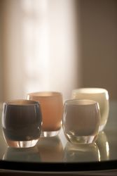 Glassybaby Candle Holders   So sleek and classy. Want. #Glassybaby