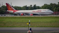 Air India / Boeing 747 by Oliver Tank Photography on Air India, Boeing 747, Aircraft, Photography, Airplanes, Aviation, Photograph, Plane, Fotografie