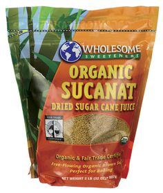 Organic Sucanat Brown Sugar