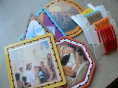 Stitching cards converted to LDS theme for sacrament time.  :)