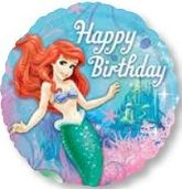 LIttle Mermaid Party Supplies: Large Foil Balloon Party Supplies Canada & Halloween Supplies Canada - Open A Party