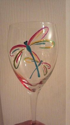 1000 images about wine glass painting on pinterest hand for What can you paint glass with