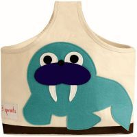 3 Sprouts Storage Caddy Blue Walrus www.mamadoo.com.au #mamadoo #storage #kids