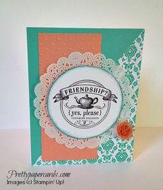 For details, visit prettypapercards.com #stampinup #stampinupcard #handmadecard