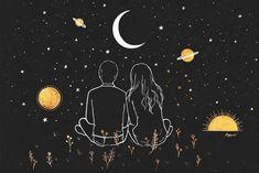 Libra Love, Love Horoscope, Love Drawings, Easy Drawings, November Wallpaper, Black Paper Drawing, Art Sketchbook, Learn To Draw, Love Art