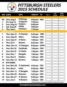 a4dac32018d Pittsburgh Steelers 2015 Schedule. Printable version here   http   printableteamschedules.com