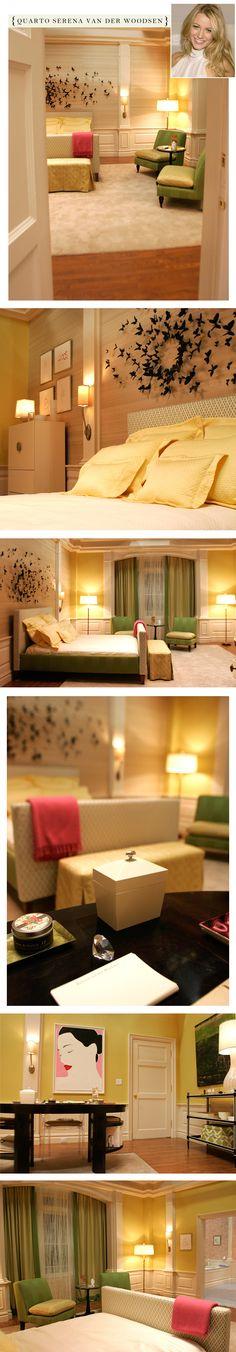 Serena Van Der Woodsen's bedroom on Gossip Girl