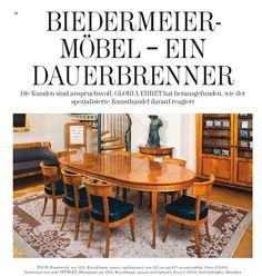 Biedermeier-Möbel ein Dauerbrenner Presse Artikel