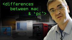 Just How do Macs and PCs Differ? - via @Computer_phile