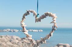 Hearts, seashells & an Ocean view .