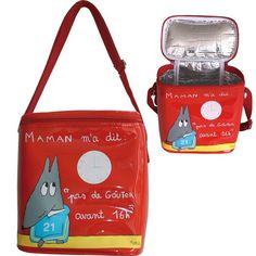 Sac à goûter isotherme pour enfant  #maroquinerie #sac #voyage #enfant #adulte #valise #trousse #plage #pochette #kids #gouter