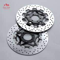 New Floating Front Brake Disc Rotor Fit For Ducait Supersport 907 Paso IE Yamaha R1, Supersport, Front Brakes, Motorcycle Accessories, Motorcycle Parts, Fit, Shape