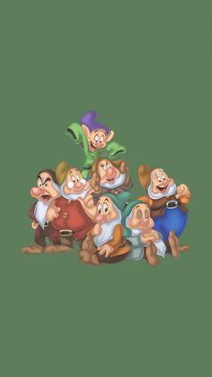 Iphone Wallpaper Video, Computer Wallpaper, Disney Wallpaper, Cartoon Wallpaper, Snow White Seven Dwarfs, Disney Background, Old Disney, Mickey And Friends, Designer Wallpaper