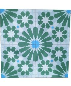 The finest quality hand made Cassiopeia Verde Spring encaustic cement tiles for quick delivery across the UK and worldwide Tiles Uk, Terrazzo Tile, Cement, Rugs, Spring, Handmade, Organization, Design, Home Decor