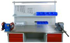 стол металлический с тумбами